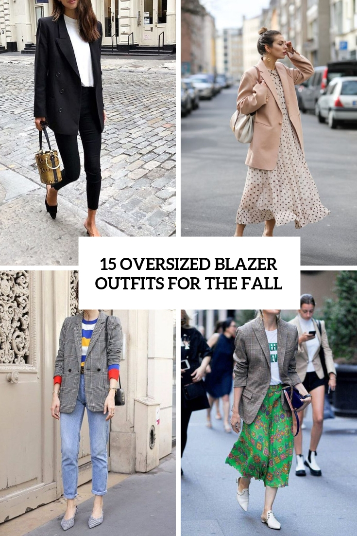 oversized blazer outfits for the fall cover