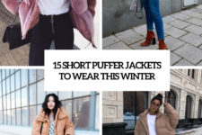 15 short puffer jackets to wear this winter cover