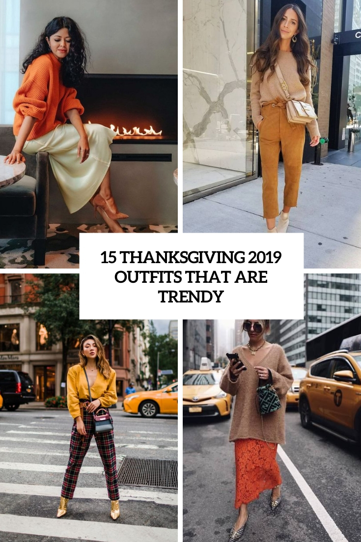 thanksgiving 2019 outfits that are trendy cover