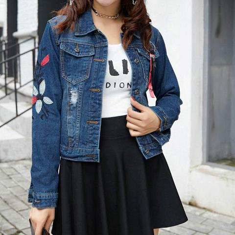 With black skater skirt and t-shirt