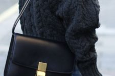 a black Classic Box bag by Celine will easily fit any of your looks, especially if you take it in a basic color
