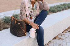 06 pink trainers instead of shoes or heels bring comfort and will make your outfit much more modern and young