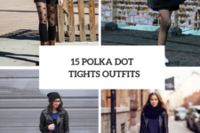 15 Chic Outfits With Polka Dot Tights