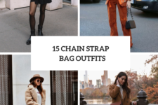 15 Fall Outfits With Chain Strap Bags