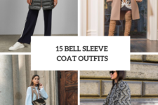 15 Looks With Bell Sleeve Coats