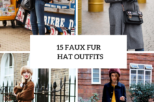 15 Outfits With Faux Fur Hats