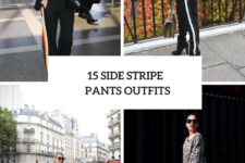 15 Outfits With Side Stripe Trousers For Ladies