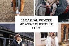 15 casual winter 2019-2020 outfits to copy cover