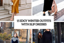15 edgy winter outfits with slip dresses cover