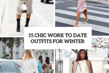 15 trendy work to date outfits for winter cover