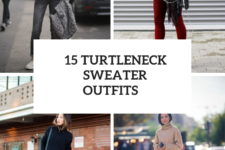 15 Comfy Outfits With Turtleneck Sweaters