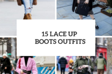 15 Winter Outfits With Lace Up Boots