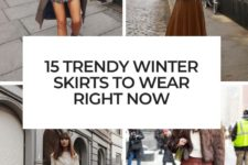 15 trendy winter skirts to wear right now cover