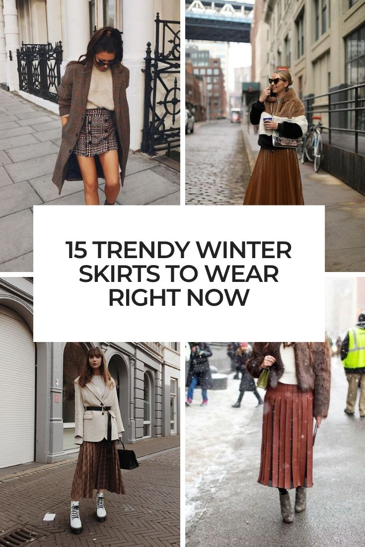 trendy winter skirts to wear right now cover