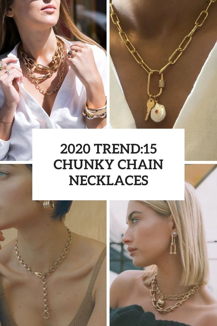 2020 Trend: 15 Chunky Chain Necklaces