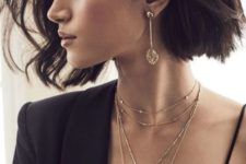 stylish way to layer necklaces