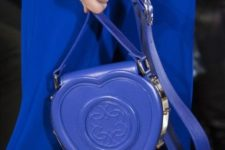 07 a classic blue heart-shaped bag is a very whimsy accessory that is great for special occasions