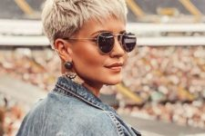 08 a blonde layered short pixie is a timeless idea for a girl who loves gamine cuts