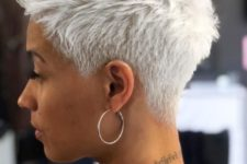 09 an icy blonde short pixie is a great solution with both the length and the color