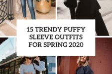 15 trendy puffy sleeve outfits for spring 2020 cover