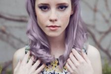 21 there are lots of shades of purple and lilac and you should find what fits your complexion and looks best