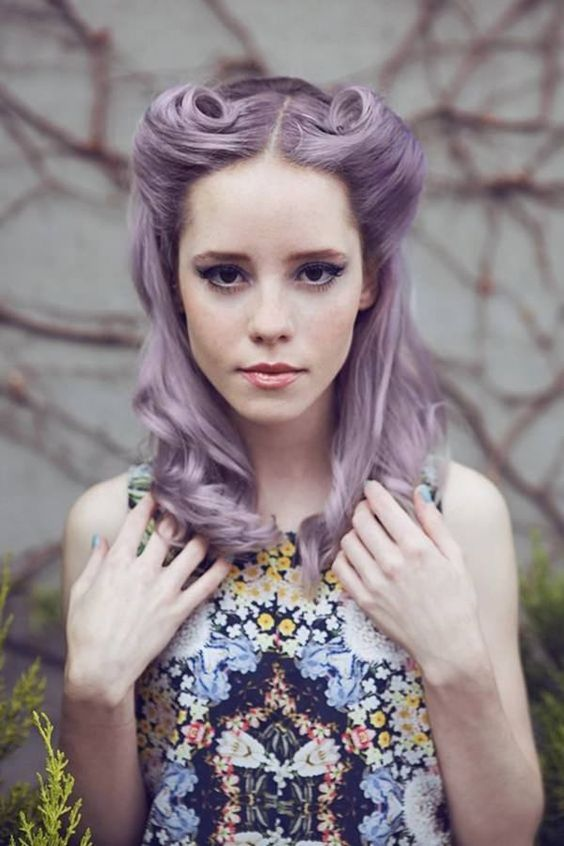 there are lots of shades of purple and lilac and you should find what fits your complexion and looks best