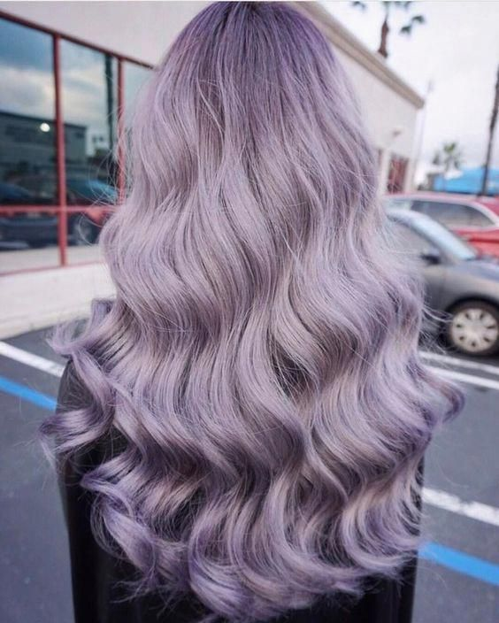 colder or warmer shades of lilac look totally different and you should find your best tone