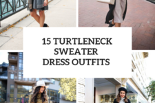 15 Outfits With Turtleneck Sweater Dresses