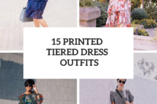 15 Spring Looks With Printed Tiered Dresses