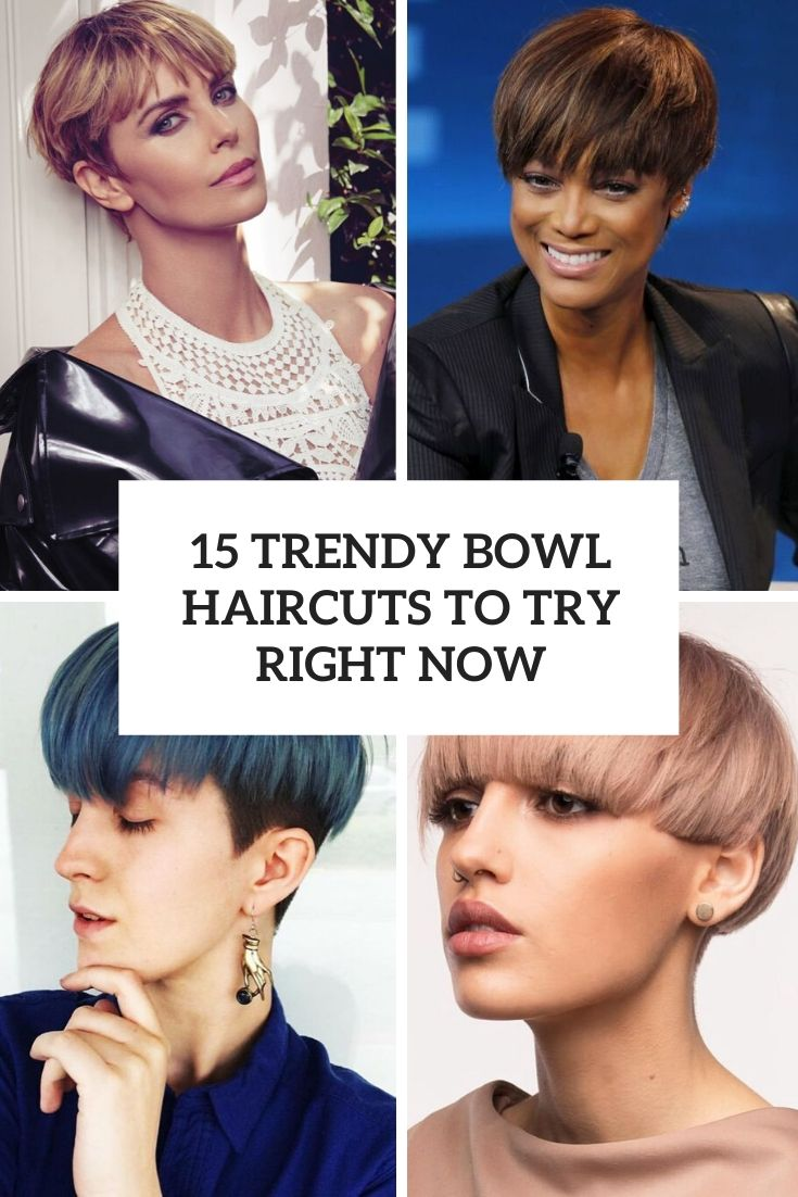 15 Trendy Bowl Haircuts To Try Right Now