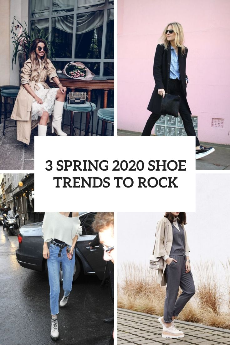 3 Spring 2020 Shoe Trends To Rock