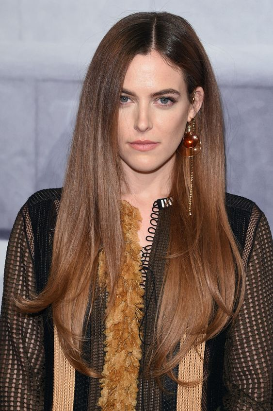 wear super long sleek hair in your natural shade and you will be on top of all the trends