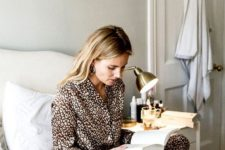 08 animal print pajamas are ideal for now – animal prints are veyr trendy and everybody's wearing them