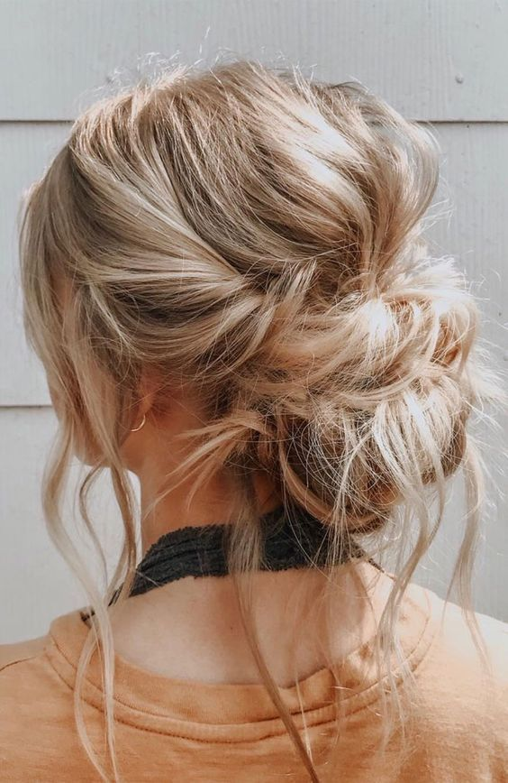 a bit of mess is totally on trend, so feel free to rock messy hairstyles - as many as you want