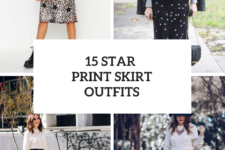 15 Ideas With Star Printed Skirts
