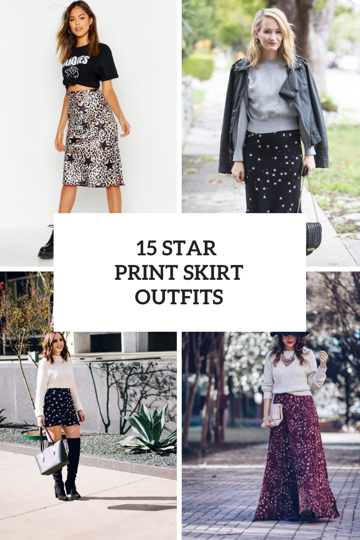 Ideas With Star Printed Skirts