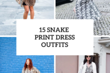 15 Outfits With Snake Print Dresses