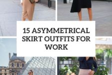 15 asymmetrical skirt outfits for work cover
