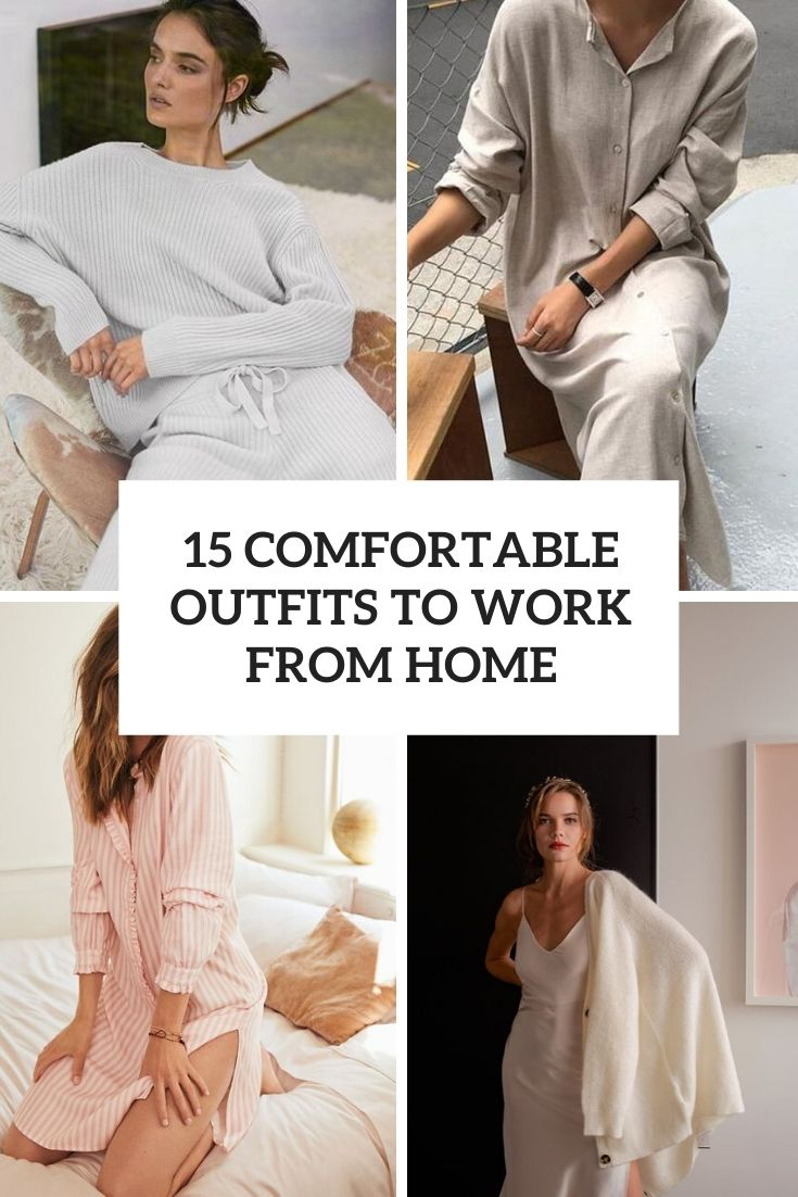 comfortable outfits to work from home cover