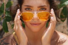 07 if you love bold colors, try colorful aviators as an option for some days