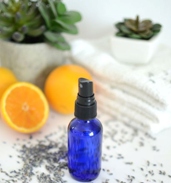 make a cool pillow spray that would keep you calm and ease the stress
