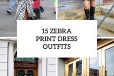 15 Fabulous Outfits With Zebra Print Dresses