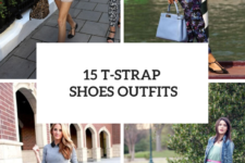 15 Outfit Ideas With T-Strap Shoes