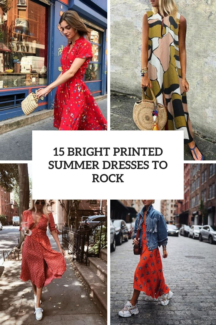 bright printed summer dresses to rock cover