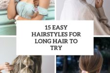 15 eays hairstyles for long hair to try cover