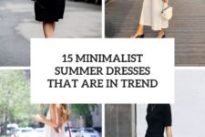 15 minimalist summer dresses that are in trend cover