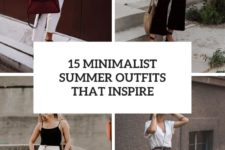 15 minimalist summer outfits that inspire cover