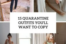 15 quarantine outfits you'll want to copy cover