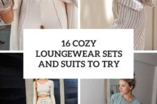 16 cozy loungewear sets and suits to try cover