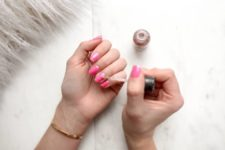 not picking at dips or gel polish is one of several important beauty tips to follow during the quarantine